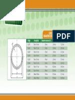 Especificaciones Tecnicas de Diametros de La Tubería Donsen Ppr