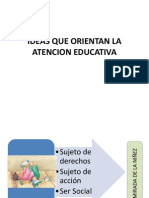 Ideas Que Orientan La Atencion Educativa 0-3