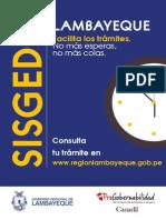 Afiche SISGEDO
