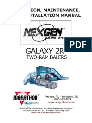 Manual de Maquina Galaxy 2R | Switch | Pword on