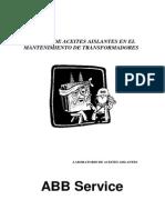 134280260 Analisis de Aceite Mantenimiento de Transformadores