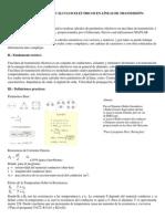 Programa Definitivo Para Realizar Cálculos Eléctricos en Líneas de Transmisión