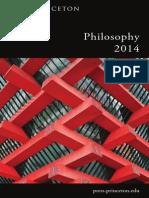 Philosophy 2014 Catalog