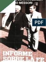 RATZINGER, J. & MESSORI, V. - Informe sobre la fe - Cristiandad 1985.pdf