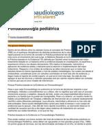 Fonoaudiologia Pediátrica - 2012-05-26