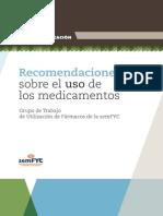 Recomendaciones Uso Medicamento