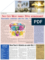 Rec Center News Sun City West Oct 2008