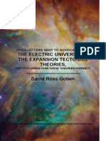 Open Letters to the Electric Universe and Expansion Tectonics Theories