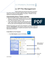 Windows XP File Management