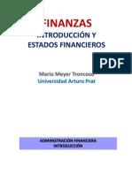 Finanzas (1) - Introducción y Estados Financieros