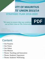 SU Strategic Plan 2016-2020