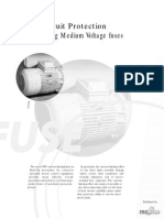 Motor Circuit Protection Using Medium Voltage Fuses