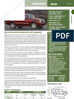 2010 Jeep Commander Information