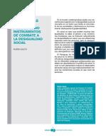 Las Políticas de Salud Pública Como Instrumentos de Combate a La Desiguldad Social
