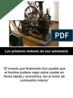 4  Los primeros motores de combustión interna