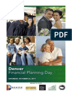 Program for Denver Financial Planning Day, 22 October 2011