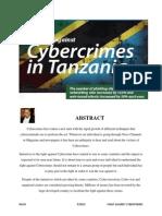 The Fight Against Cybercrime in Tanzania - Report