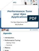 PerformanceTuning Ajax Applications