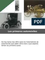 5 Los primeros automóviles