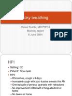 Community Aquired Pneumonia 06.06.2014