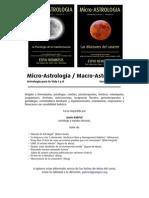 Macro y Micro Astrología Programa