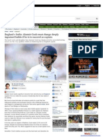 Alastair Cook must change deeply ingrained habits if he is to succeed as captain