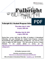Fulbright Info Session 7.17.14 Flyer