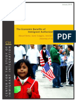 The Economic Benefits of Immigrant Authorization in California