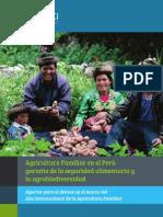 Agricultura Familiar en el Perú garante de la seguridad alimentaria y la agrobiodiversidad