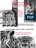 Sculpture medievale 5C Trecento Lorenzo Maitani
