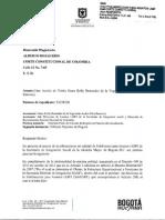 Amicus Sub Dirección para asuntos LGBTI secretaria de integración distrital. mujer trans