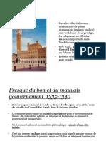 Lorenzetti Ambrogio Fresques Bon et mauvais gouvernement