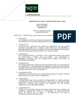 Anteproyecto-cod. Procesal Civil