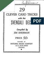 29 Tricks Svengali