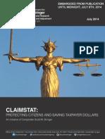 Stringer ClaimStat Report