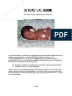 Nicu Survival Guide for Residents