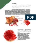 Composicion Quimica de La Granada 2