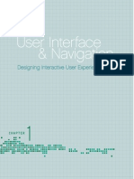 User Interface and Navigation