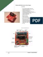 Modulo L298N Doble Puente H Driver Stepper (Arduino)