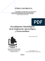 Zonificacion Agroecologica