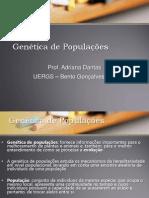 Genetica de Populações
