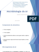 Apres. pronta - Microbiologia do Ar.pptx