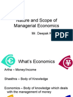 module 1- nature and scope of managerial economics