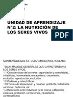 Caract s v Yformas de Nutrición 2009