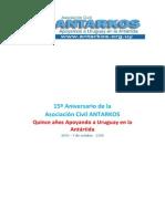 ANTARKOS 15 Aniversario - 1999 - 7 de Octubre - 2014