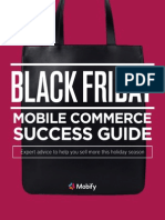 Black Friday Mobile Commerce Success Guide Mobify