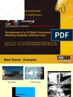 2008 Int ANSYS Conf 3 d Blast Overpressure Fluent(1)