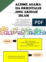 Seminar Pluralisme Agama Agenda Orientalis Pesong Akidah Islam