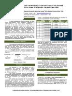 Determinação Dos Teores de Ácido Acetilsalicílico Em