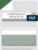 Competencias Didacticas